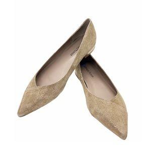 DONALD j PLINER•Ballet Pointed Flats size 6.5 tan
